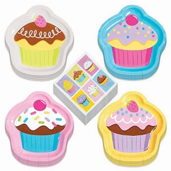 Candy & Cupcake Party Supplies - Cupcake Shaped Paper