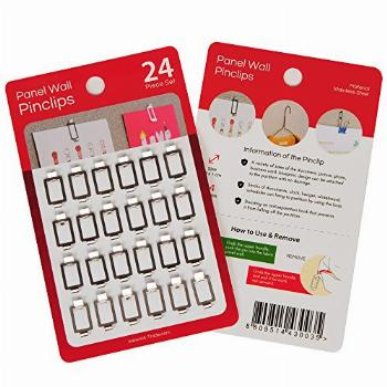 Fabric Panel Wall Clips and Hooks, Pin Clips for Office