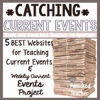 FREE template for incorporating CURRENT EVENTS in your class! Find out a GREAT strategy for your st