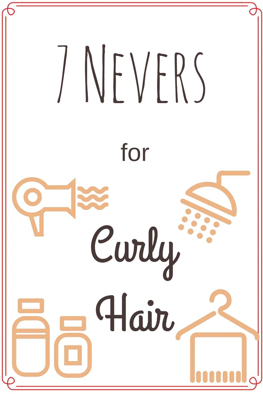 Curly Hair Tips. If youve got curly hair, you should never do any of these things. the Curls